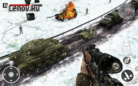 American vs German War Shooter: World War FPS v 5.2 (Mod Money)