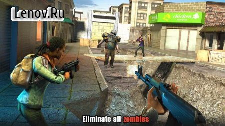 Hopeless Raider-Zombie Shooting Games v 1.8 Мод (Free SHopping)
