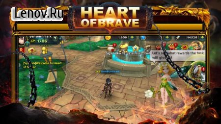 Heart of Brave Origin v  1.2.4 (God mode)