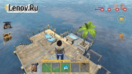 Raft Survival: Multiplayer v 17.0 Мод (Unlimited Resources/Items/No Thirst/No Hungry)
