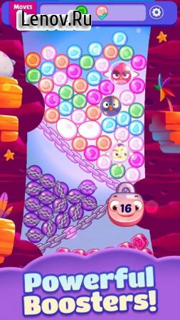 Angry Birds Dream Blast v 1.5.1 Мод (Unlimited Moves/Money/Boosters)