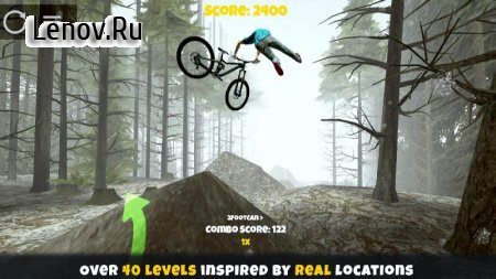 Shred! 2 - Freeride Mountain Biking v 1.30 Мод (полная версия)