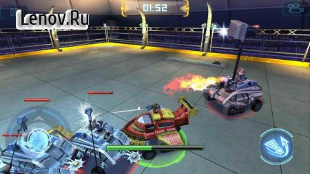 Robot Crash Fight v 1.0.2 Мод (Unlimited gold coins/banknotes)