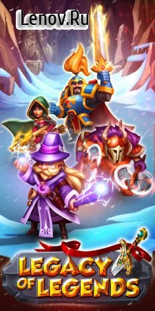 Legacy of Legends - Best Idle RPG v 0.9.3 Мод (High Skill duration for Fireball)