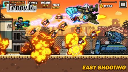 Metal Mercenary - 2D Platform Action Shooter v 54 Мод (One Hit/Dump Enemy)