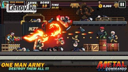 Metal Mercenary - 2D Platform Action Shooter v 54 Мод (One Hit/Dump Enemy)