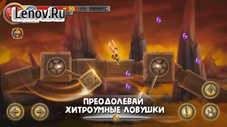 Fin & Ancient Mystery: platformer adventure v 1.0.16 Мод (Quick Upgrade/A lot of life)