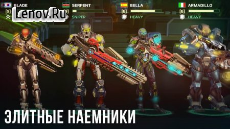 Mercs of Boom v 2.1.4 Мод (bullets/action points unlimited)