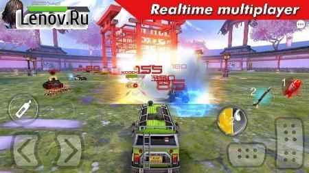 Cars Battle Royal: Overload v 1.9.7 (God Mode)