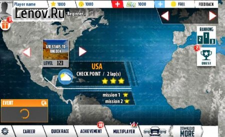 Modern Real Racer Drift Racing 3D v 1.5 (Mod Money)