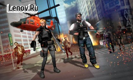 The Walking Dead Land: Subway Zombie attack v 1.2 (Mod Money)