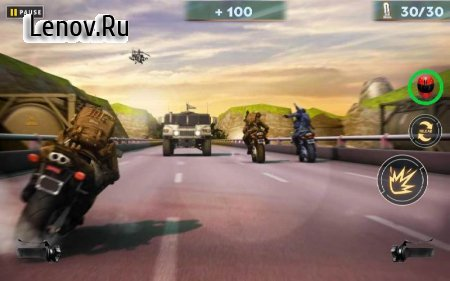 US ARMY: MOTO RACER v 1.0.5 (Mod Money)