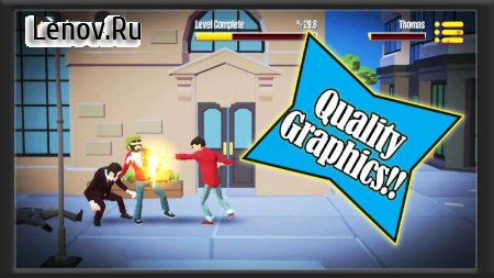 City Fighter vs Street Gang v 2.0.9 Мод (Dumb enemy)