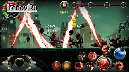 Stickman Ninja warriors : The last Hope v 1 Мод (Free Shopping)