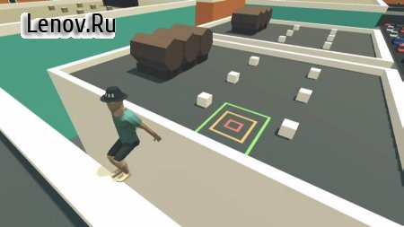Flip Trickster - Parkour Simulator v 1.6.3 Мод (A Lot Of Coin/Skip)