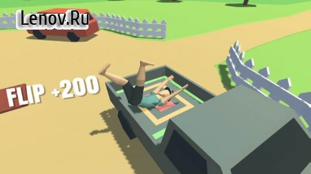Flip Trickster - Parkour Simulator v 1.5.3 Мод (A Lot Of Coin/Skip)