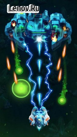 Galaxy Invaders: Alien Shooter v 1.2.15 Мод (Unlimited Coins/Gems)