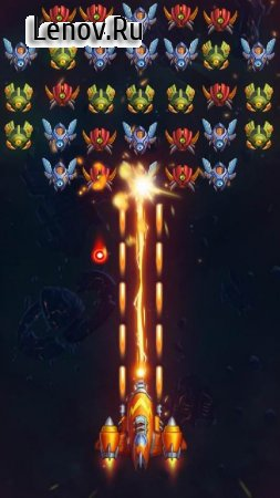 Galaxy Invaders: Alien Shooter v 1.2.5 Мод (Unlimited Coins/Gems)