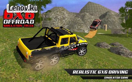 6x6 Offroad Jeep Drive v 0.6 (Mod Money/Unlocked)