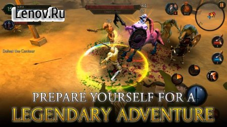 Arcane Quest Legends v 1.2.3 Мод (Unlocked)