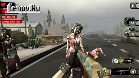 The Walking Zombie 2: Zombie shooter v 2.23 Мод (Unlimited Gold/Silvers)