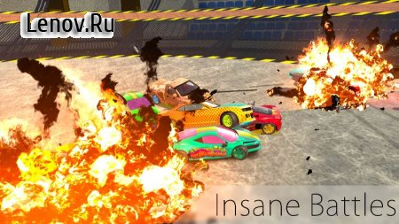 Ultimate Derby Online - Mad Demolition Multiplayer v 1.0.6 Мод (Free Shopping)