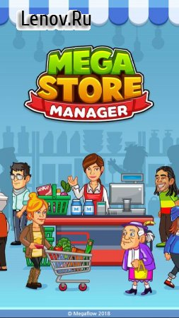 Mega Store Manager: Business Idle Clicker v 1.5.1 (Mod Money)