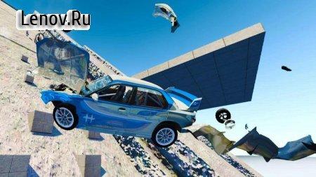 Beam Drive NG Death Stair Car Speed Crash v 1.0 Мод (Unlock all cars)