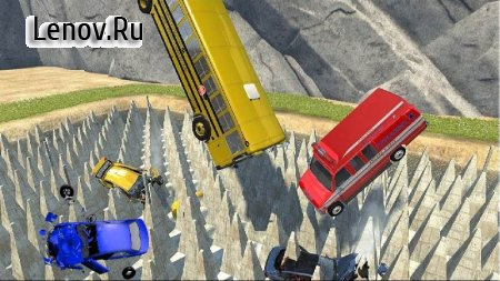 Beam Drive NG Death Stair Car Speed Crash v 1.0 Мод (Unlock all cars)