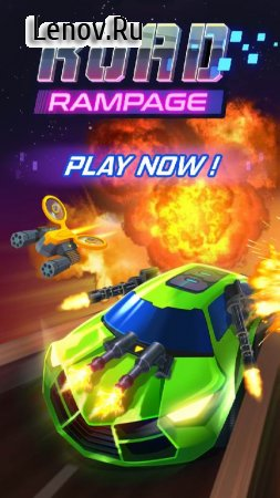 Road Rampage: Racing & Shooting to Revenge v 4.3.1 (Mod Money)