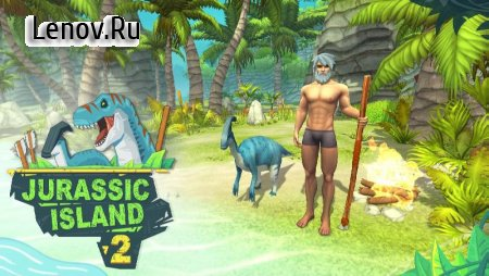 Jurassic Island 2: Lost Ark Survival v 1.2.0 (One Hit/God mod & More)