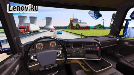 Euro Truck Driving Simulator 2018 v 2.4 Мод (Free Shopping)