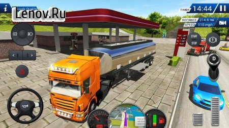 Euro Truck Driving Simulator 2018 v 2.4 Мод (Free Shopping)