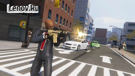 Grand Crime Gangster v 1.4 Мод (Unlimited Bullets)