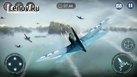 Skyward War - Mobile Thunder Aircraft Battle Games v 1.1.2 Мод (Free Shopping)