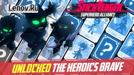 Stickvenger Superhero Alliance v 0.4.08 (Mod Money)