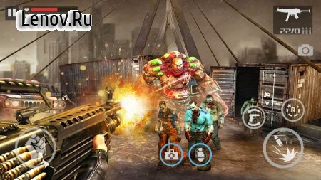 Zombie Shooter-Dead Warfare v 1.1.1 Мод (Free Shopping)