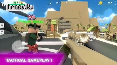 Block Gun: FPS PvP War - Online Gun Shooting Games v 2.0 Мод (Currency Inscress insted of decress)