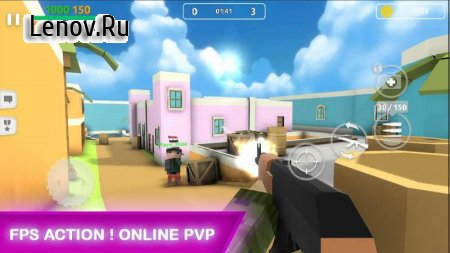 Block Gun: FPS PvP War - Online Gun Shooting Games v 6.5 Мод (Currency Inscress insted of decress)