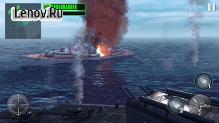 Silent Warship Hunter- Sea Battle Simulation Game v 1.1.1 Мод (Free Shopping)