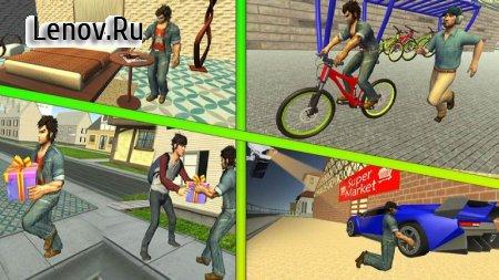 Virtual Thief Simulator 2019 v 1.2 Мод (Free Shopping)