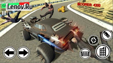 Zombie Crush Hill Road Drive v 1.2 Мод (A lot of gold coins)