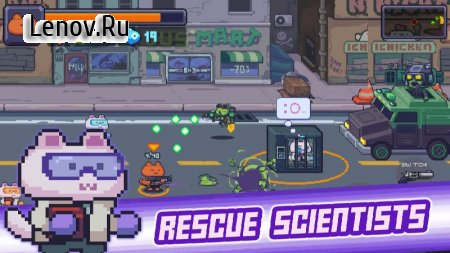 Cat Gunner: Super Force v 1.6.9 (Mod Money)