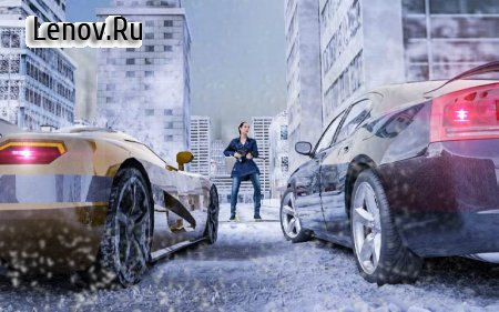 Winter City Shooter Gangster Mafia v 1.0 Мод (Unlimited Money/Bullets)