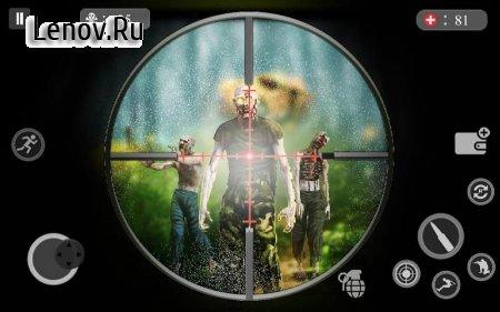 Zombie Hunter Sniper Strike - FPS Sniper Shooter v 1.0 (Mod Money)