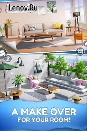 Homecraft - Home Design Game v 1.5.12 Mod (Unlimited Gold Coins/Diamonds/Lives)
