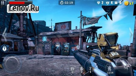 Commando Fire Go- Armed FPS Sniper Shooting Game v 1.1.2 Мод (Free Shopping)