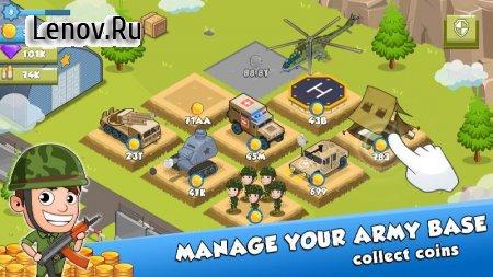 Idle Army Tycoon v 1.2.1 (Mod Money)