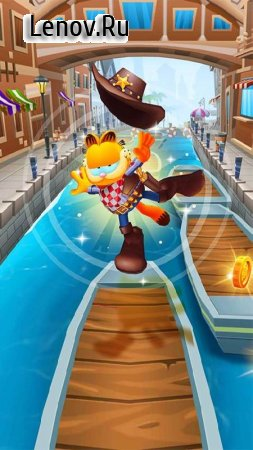 Garfield Rush v 3.5.0 (Mod Money)