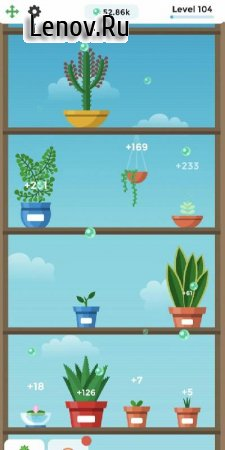 Terrarium: Garden Idle v 1.22 Мод (Free Shopping)